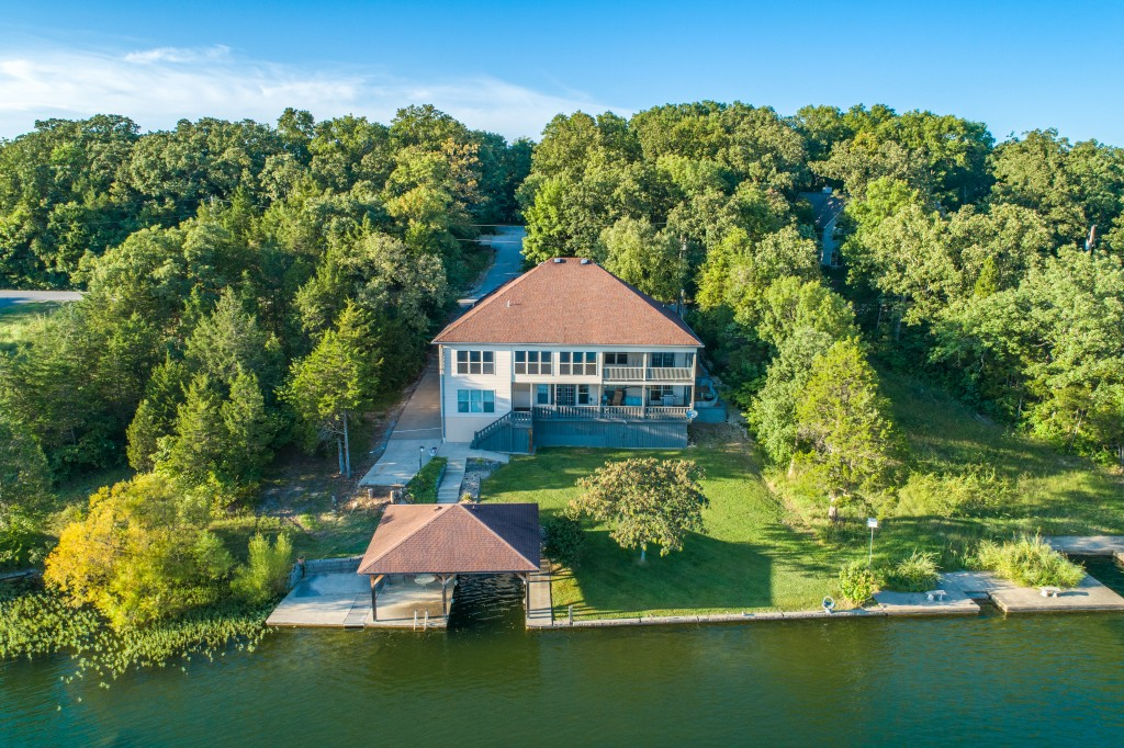 Real Estate Photography Drone Lake