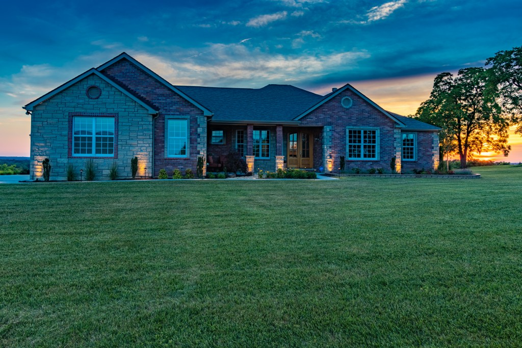 Real Estate Photography Exterior Twilight